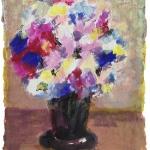 Blumenstrauss impressionistisch