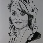 Junge Frau, Albanerin